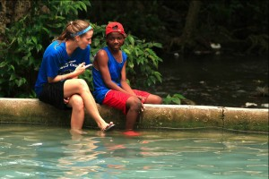 Women's basketball team starts out year with mission work in Haiti
