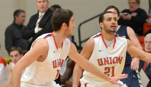 Early lead helps men's basketball defeat Rust College 96-74