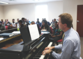 Dr. Mathews' Opus: Music Professor Establishes International Partnership
